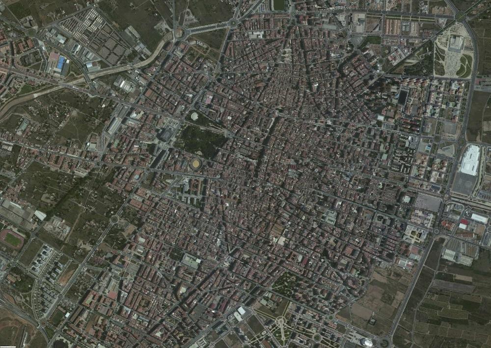 Castellon Foto Satelite