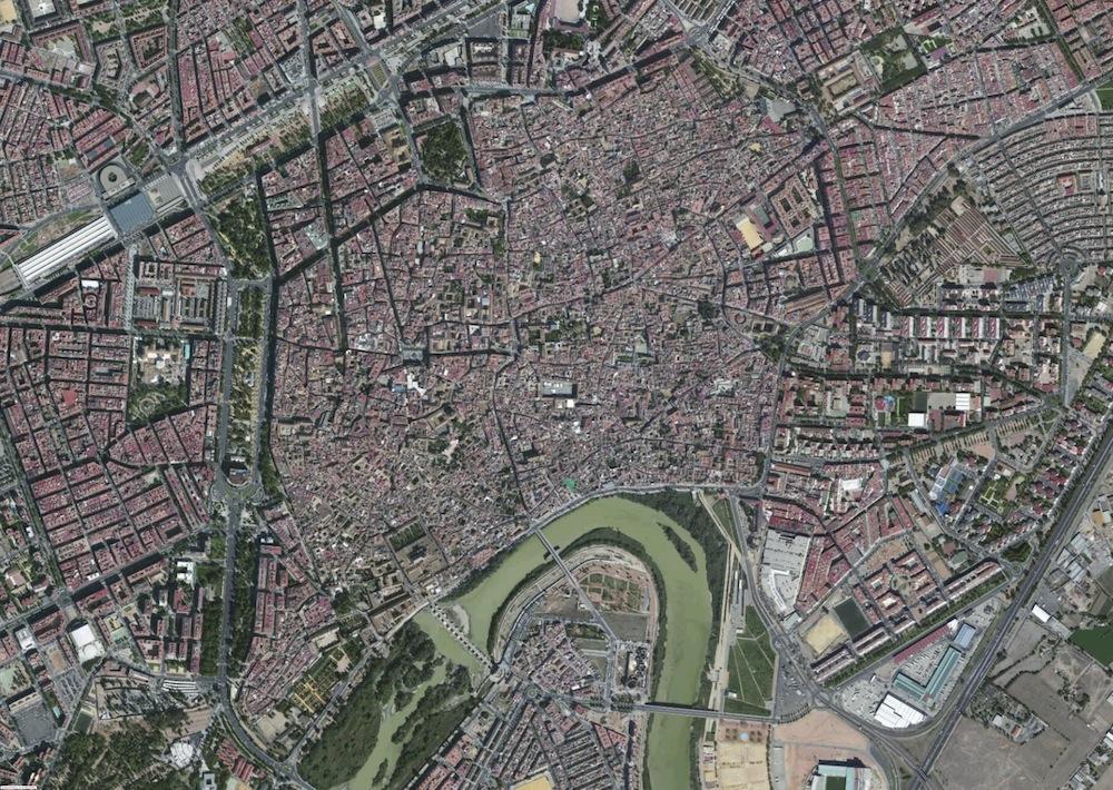 Cordoba Foto Satelite