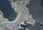 A Coruna Foto Satelite