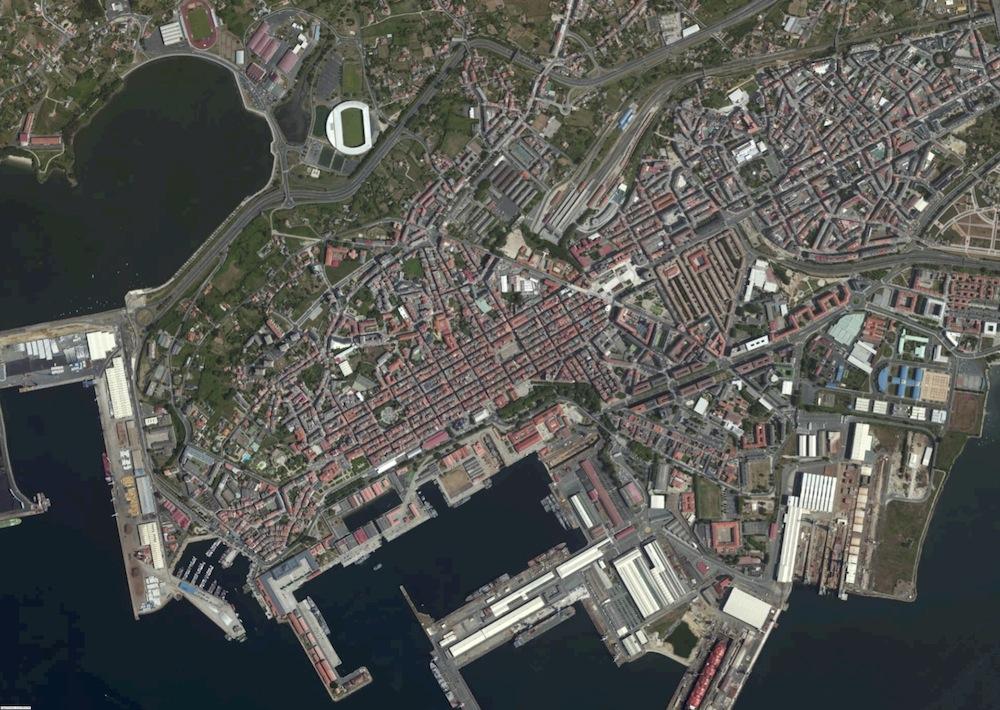 Ferrol Foto Aerea