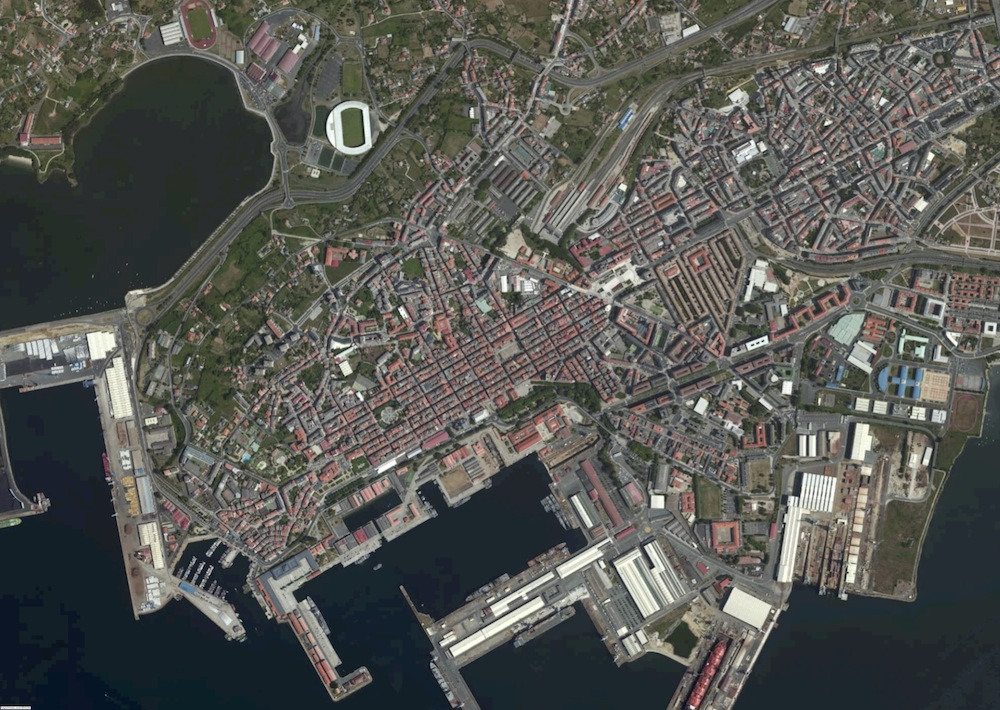 Ferrol Foto Satelite