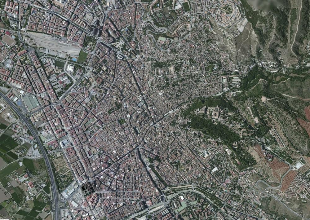 Granada Foto Aerea