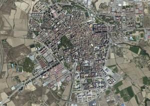 Huesca Foto Aerea
