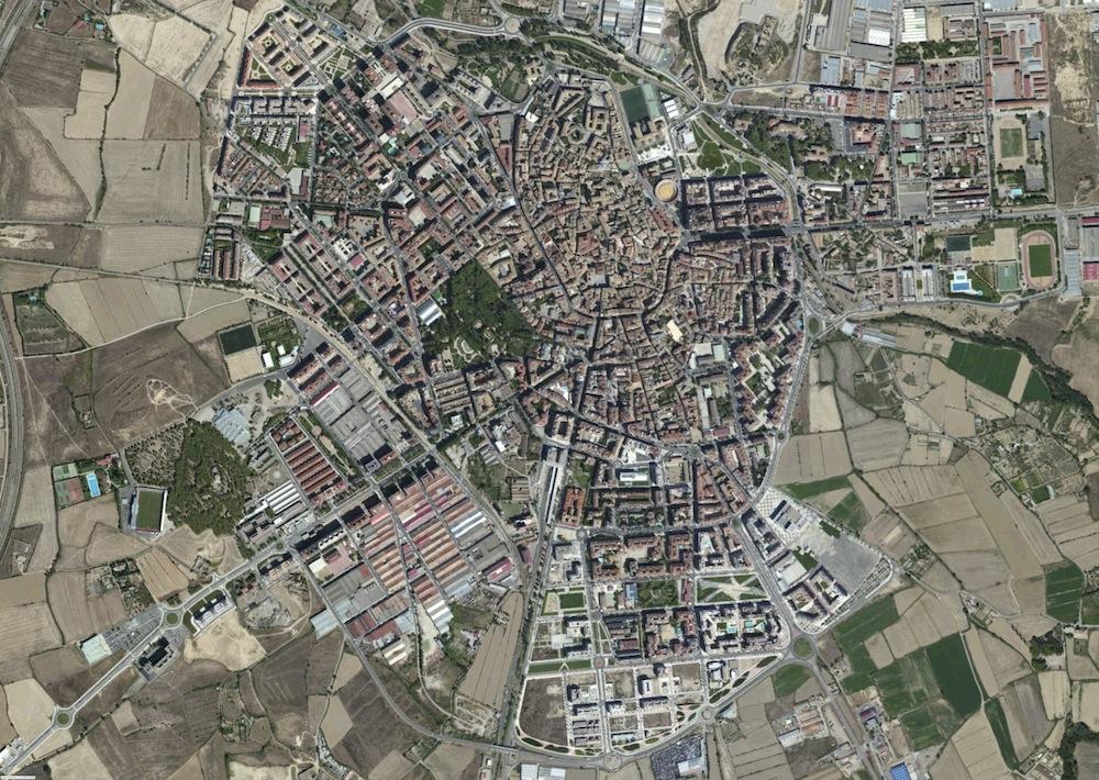 Huesca Foto Satelite