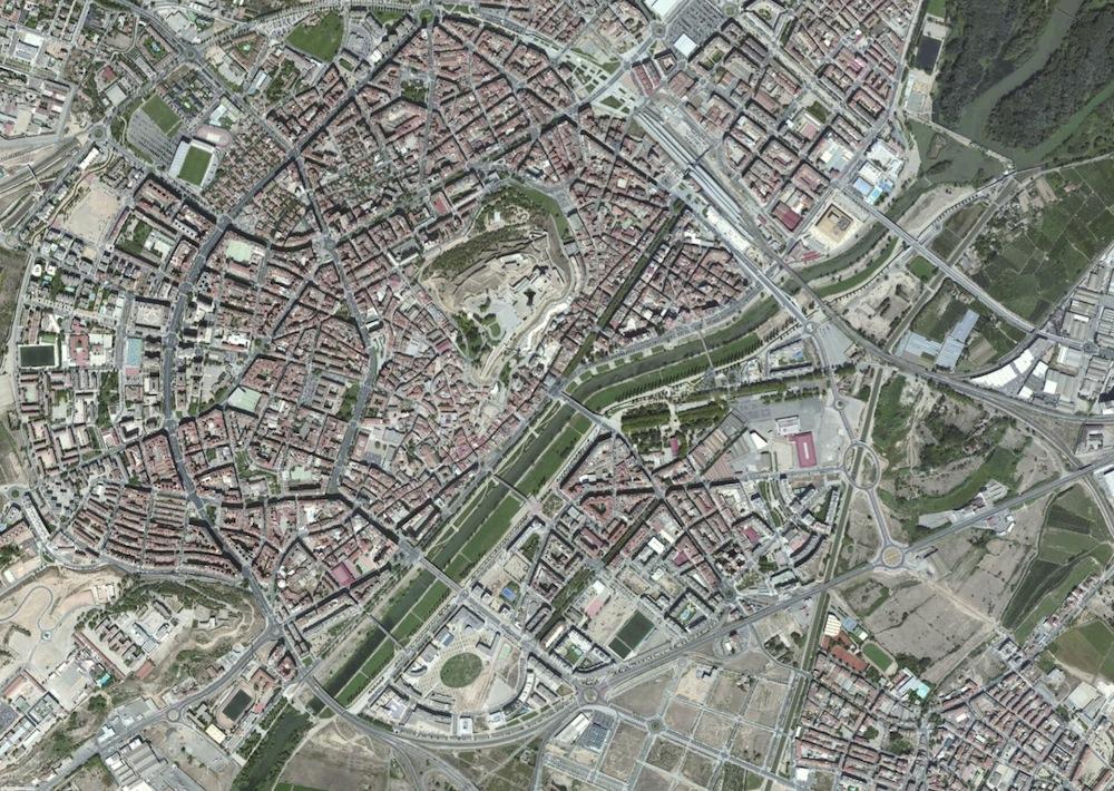 Lleida Foto Satelite
