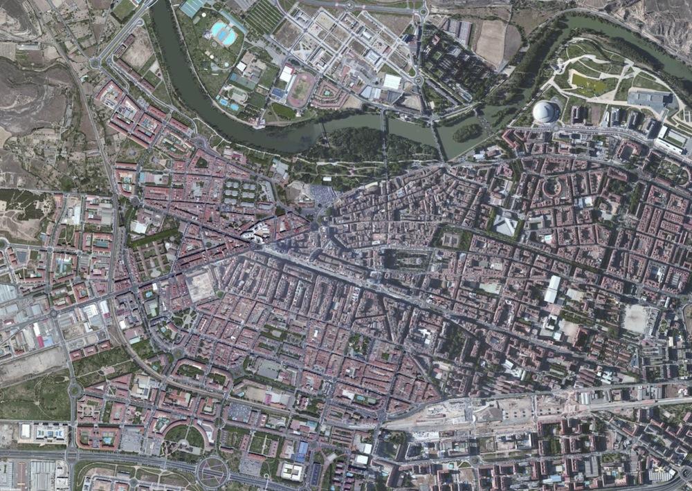 Logrono Foto Satelite