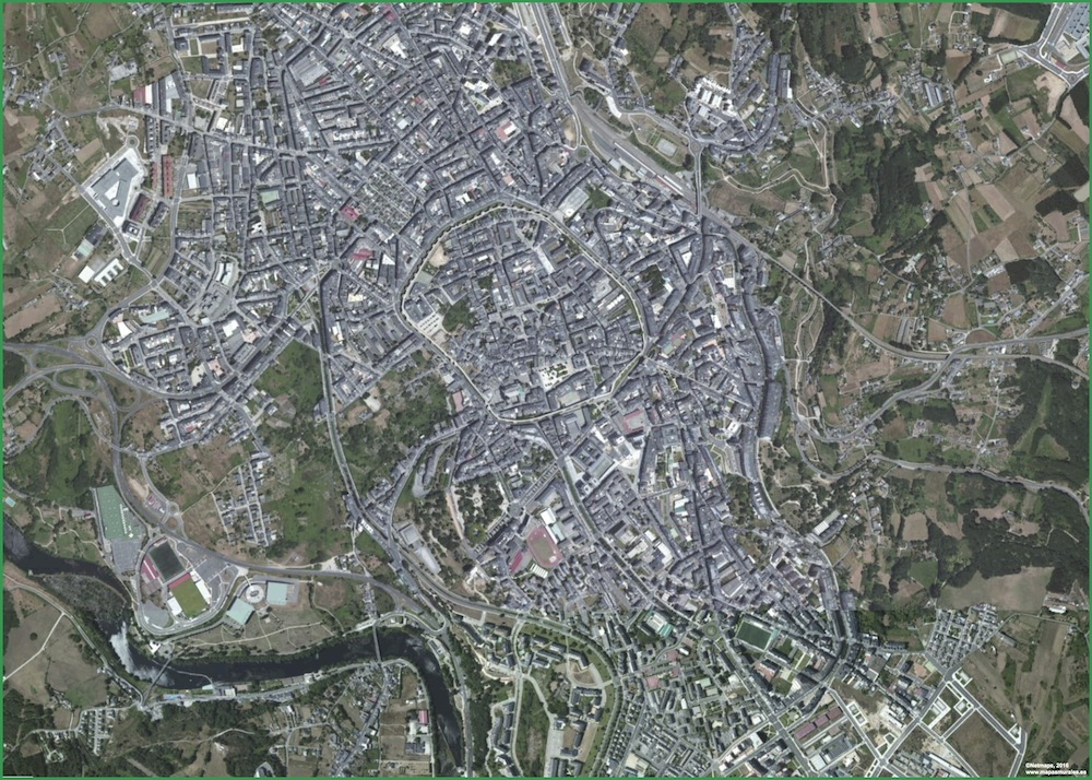 Lugo Foto Satelite