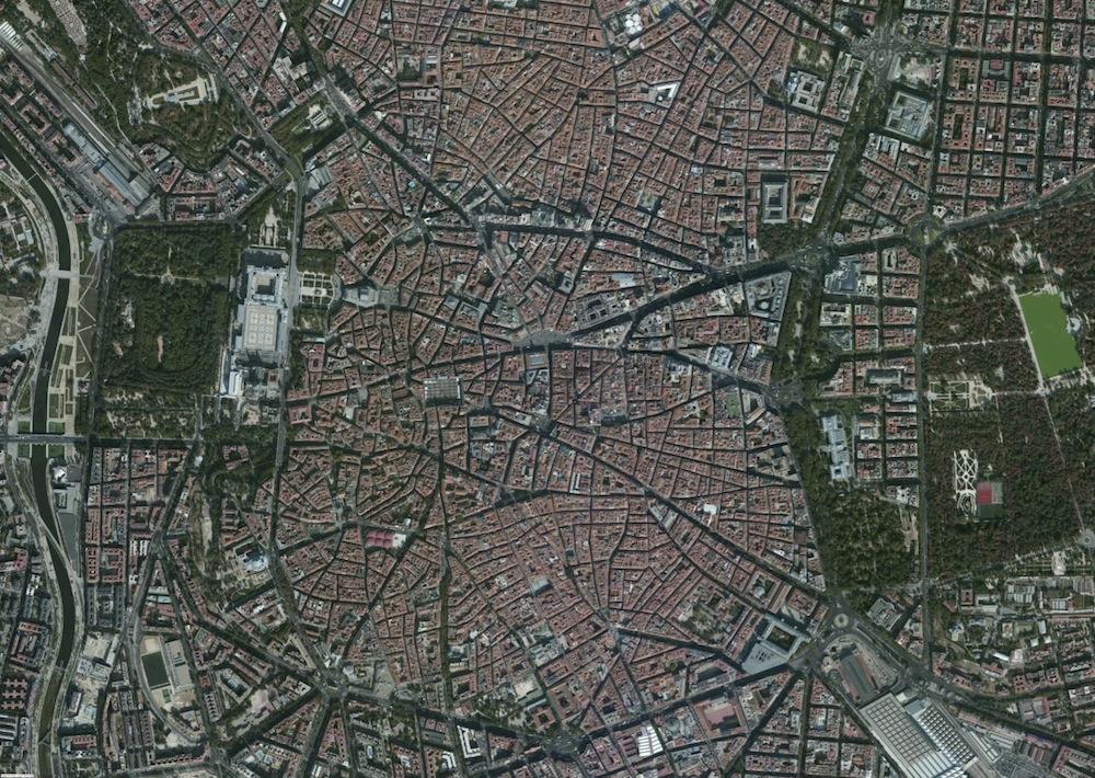 Madrid Foto Aerea