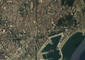 Malaga Foto Aerea