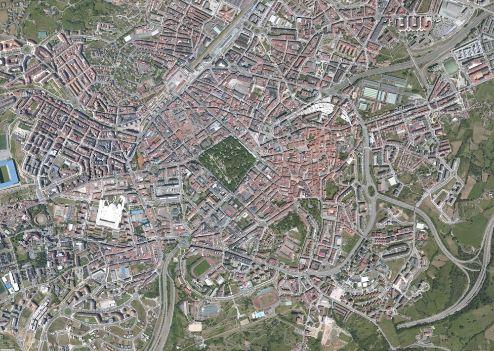 Oviedo Foto Satelite