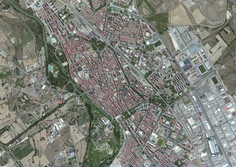 Palencia Foto Satelite