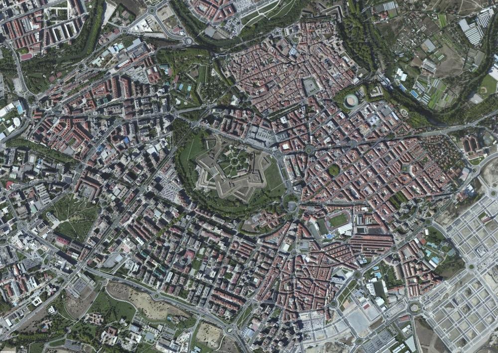 Pamplona Foto Satelite