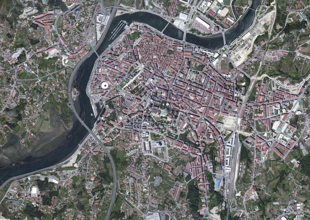 Pontevedra Foto Satelite