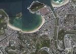 San Sebastian Foto Satelite