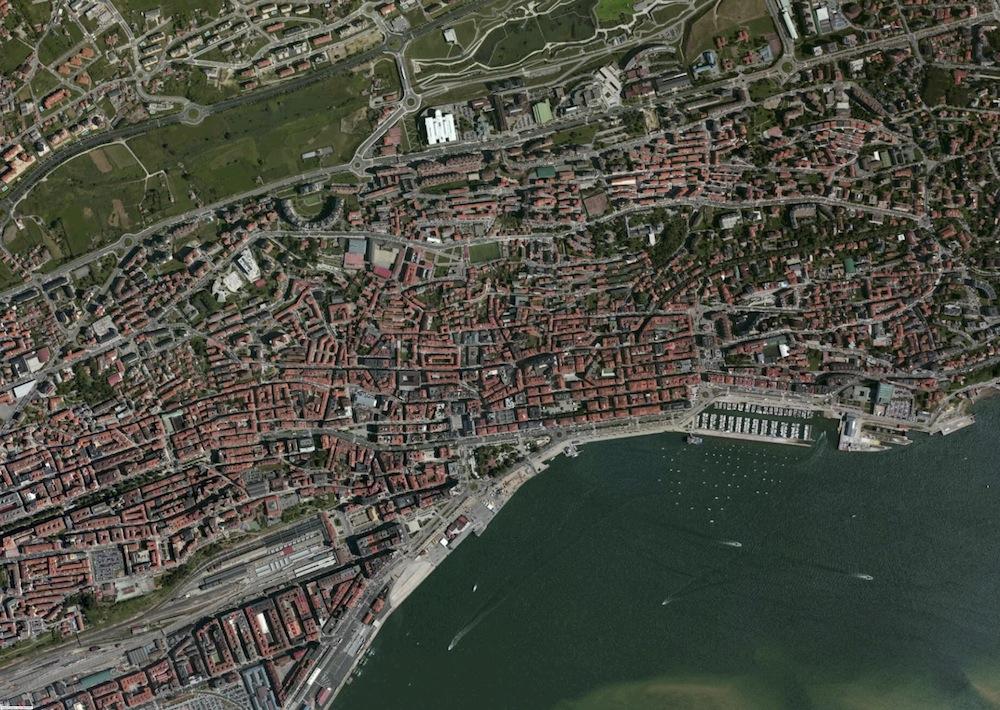 Santander Foto Aerea
