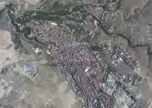 Segovia Foto Aerea