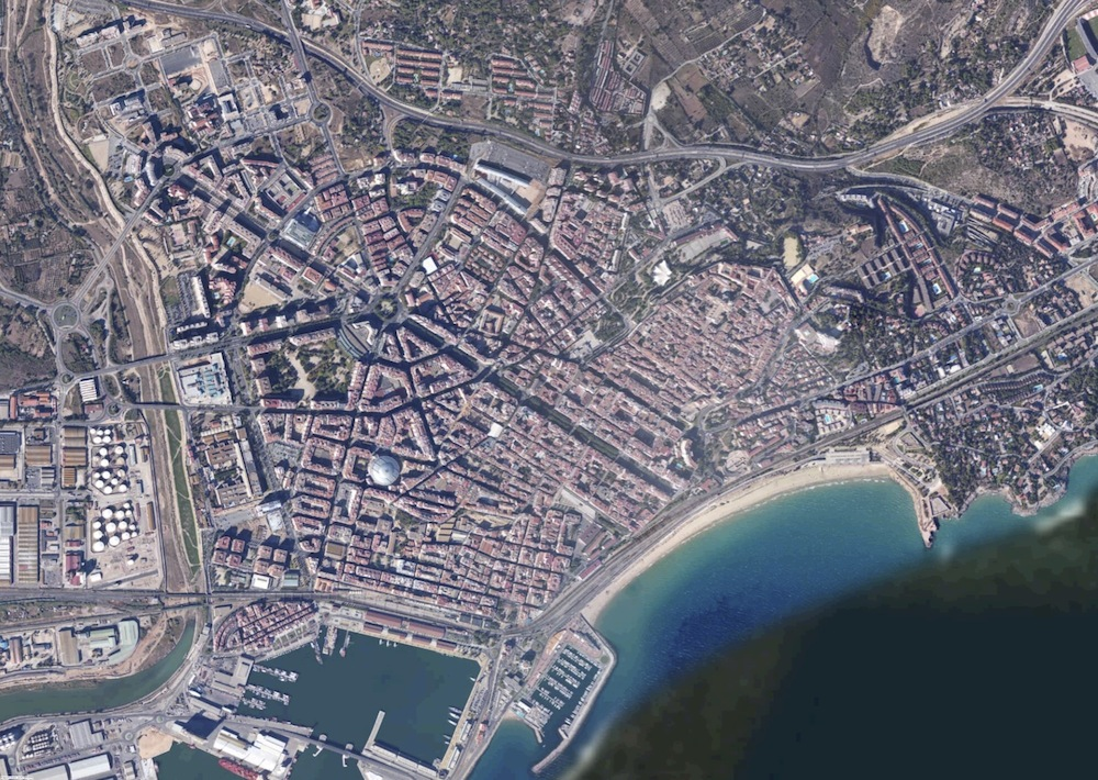 Tarragona Foto Satelite