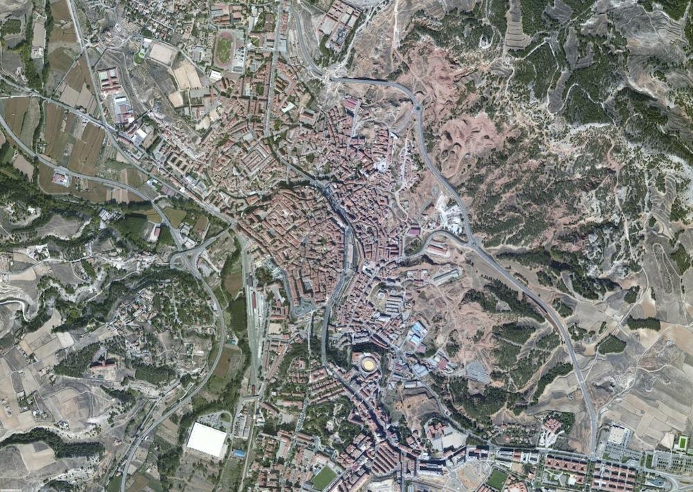 Teruel Foto Aerea