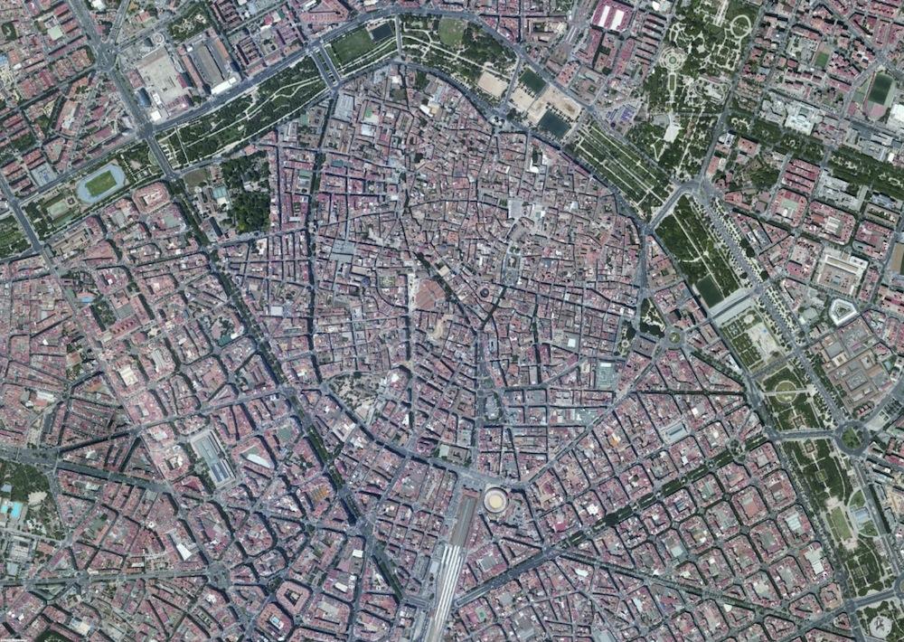 Valencia Foto Satelite