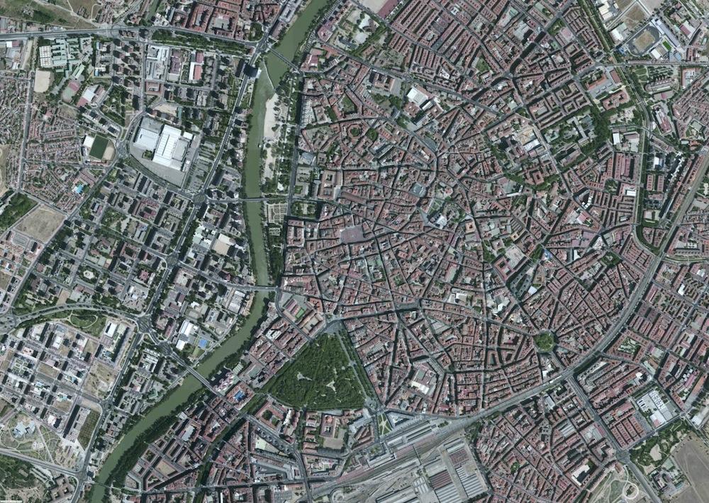 Valladolid Foto Satelite