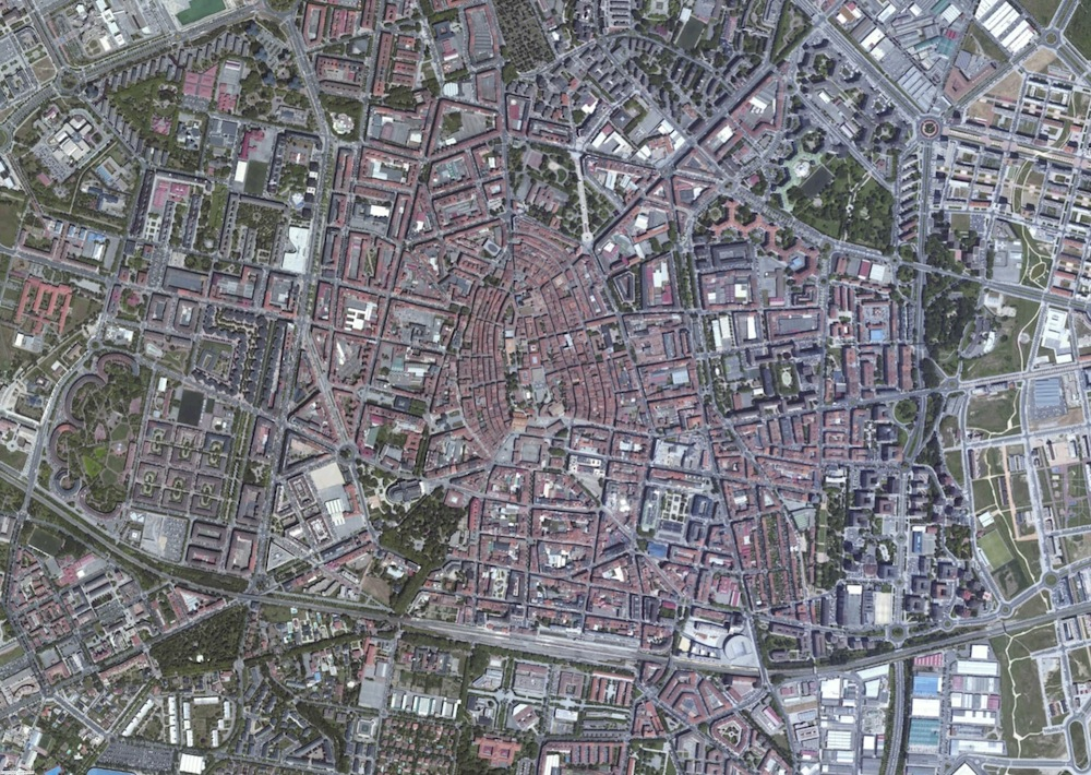 Vitoria Foto Satelite