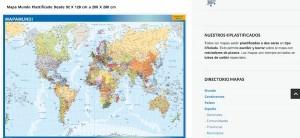 mapas plastificados