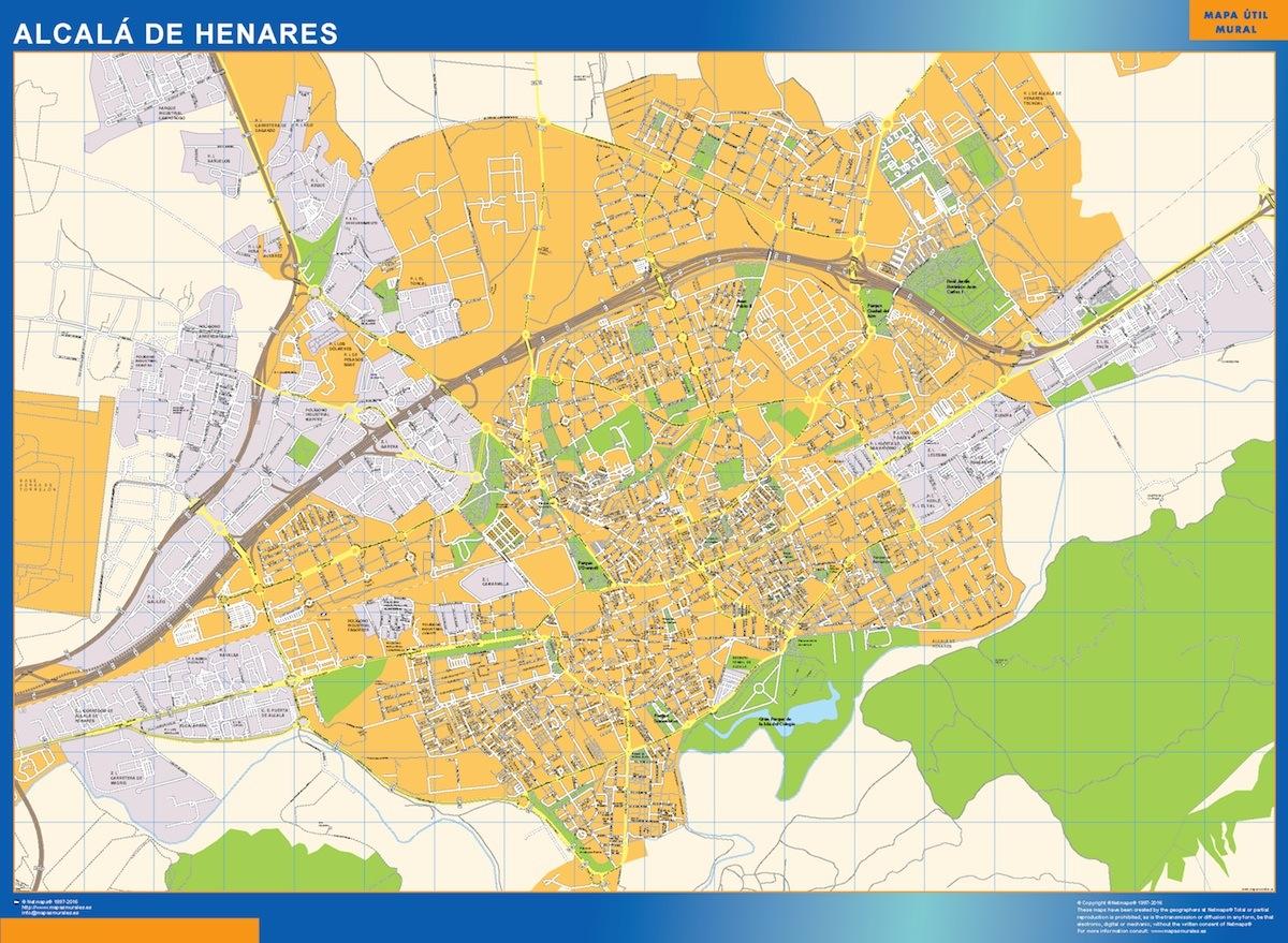 Mapa alcal de henares mapas posters mundo y espa a for Codigo postal calle salamanca valencia