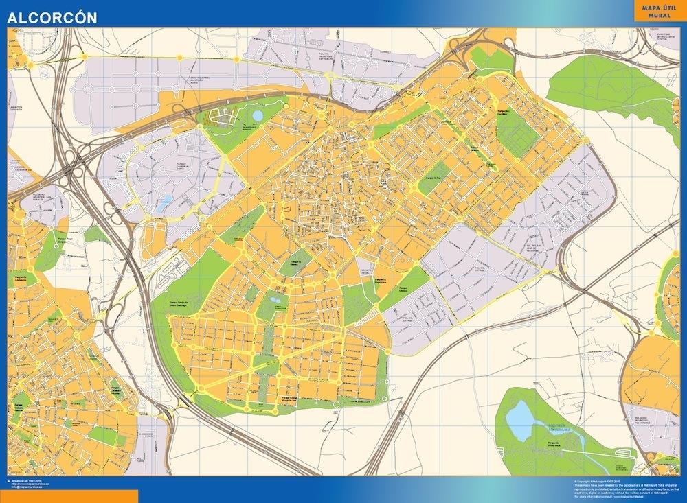 mapa Alcorcon