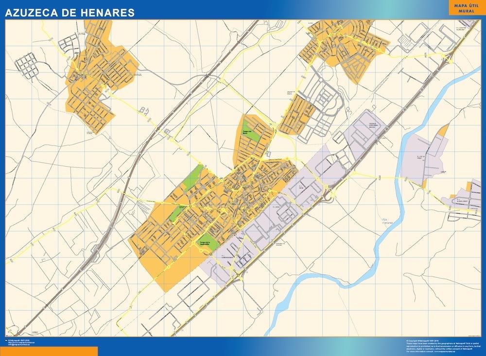 mapa Azuzeca de Henares