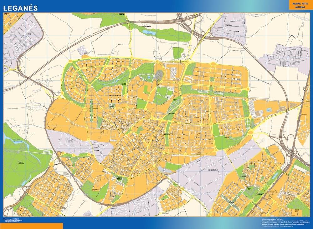 mapa Leganes