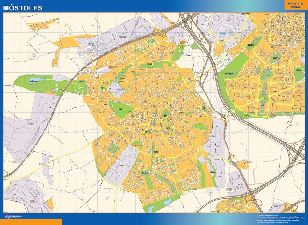 mapa Mostoles
