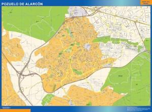 mapa Pozuelo de Alarcon