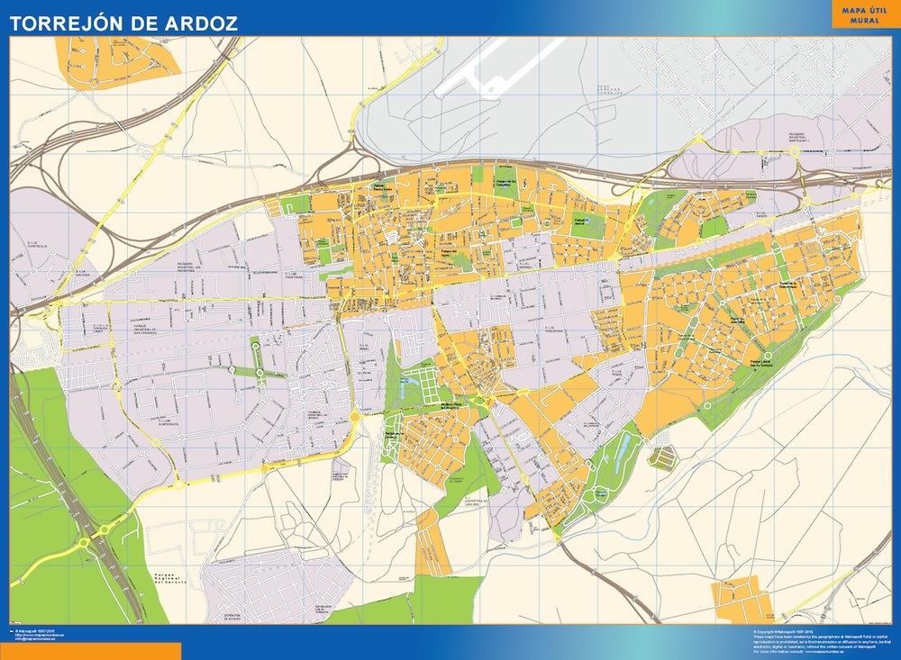 mapa Torrejon de Ardoz