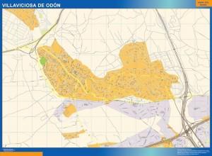 mapa Villaviciosa de Odon