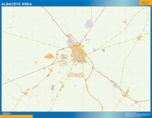 Albacete Mapa Area