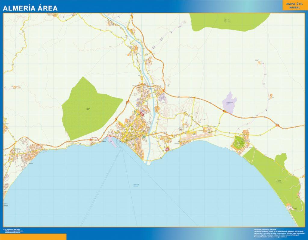 Almeria Mapa Area