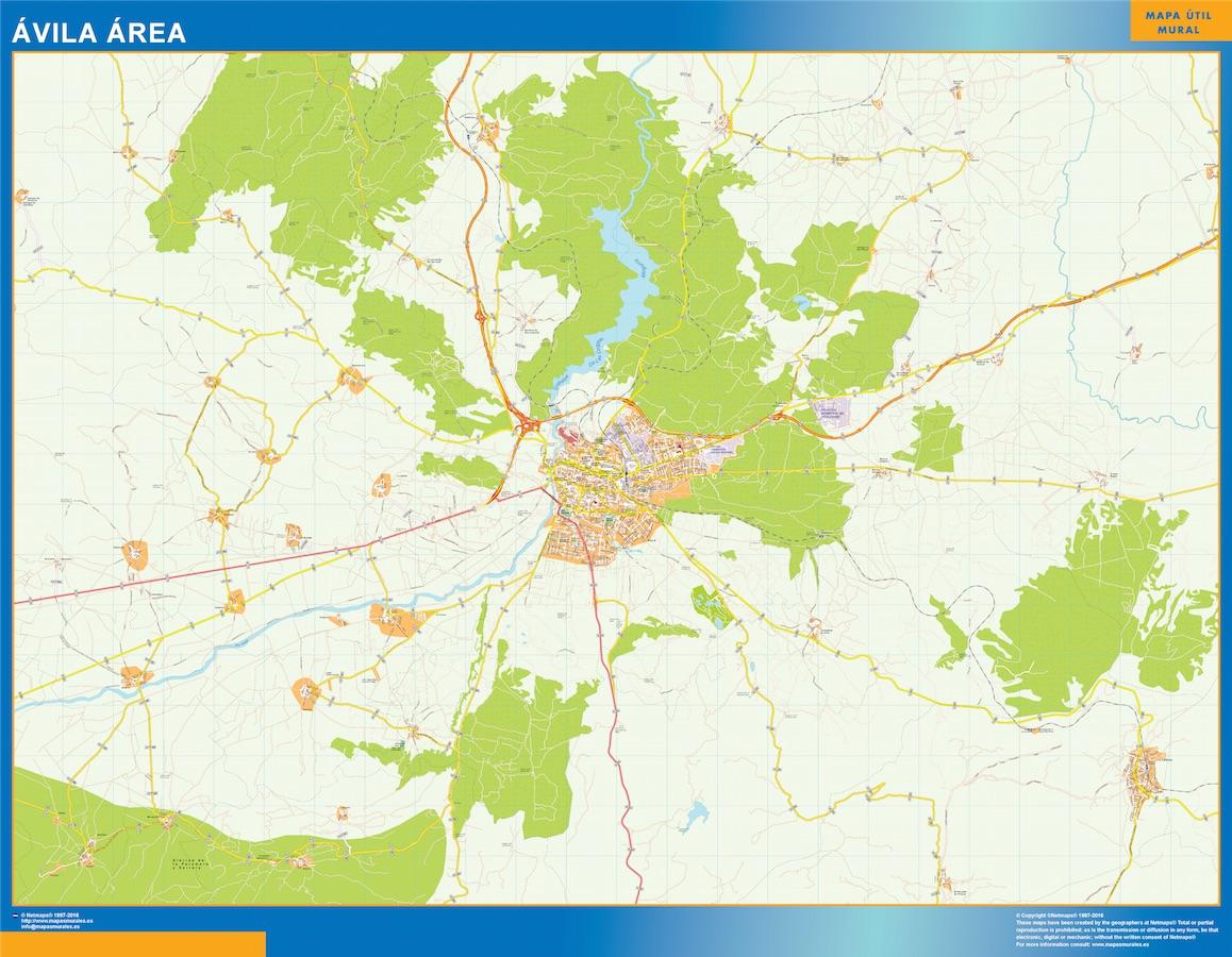 Avila Mapa Area