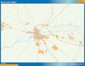 Badajoz Mapa Area