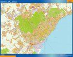 Barcelona Mapa Area