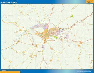 Burgos Mapa Area