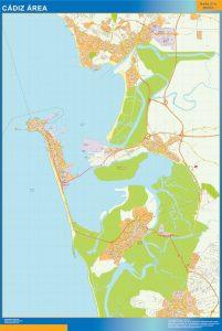 Cadiz Mapa Area
