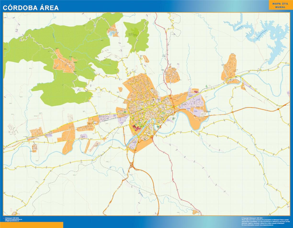 Cordoba Mapa Area
