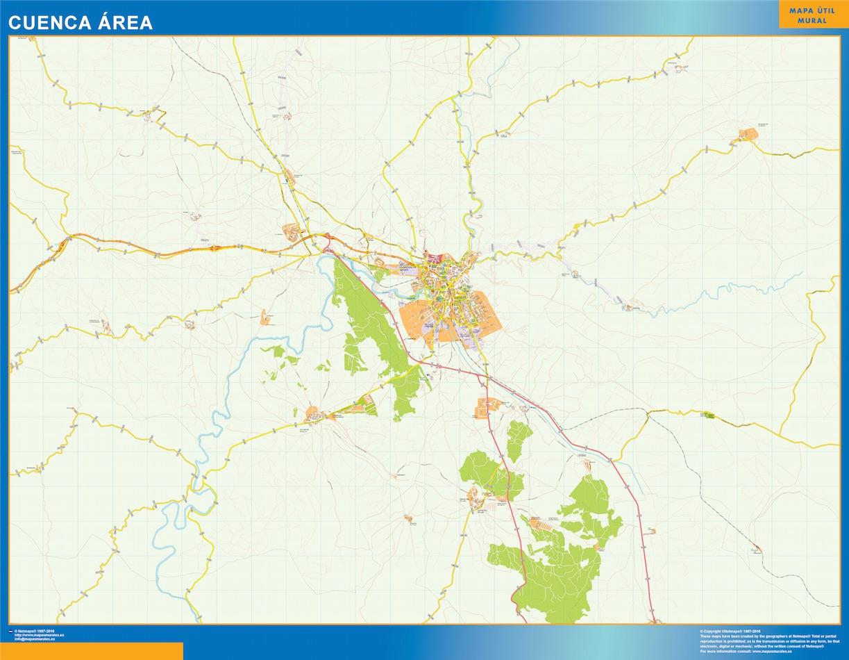 Cuenca Mapa Area