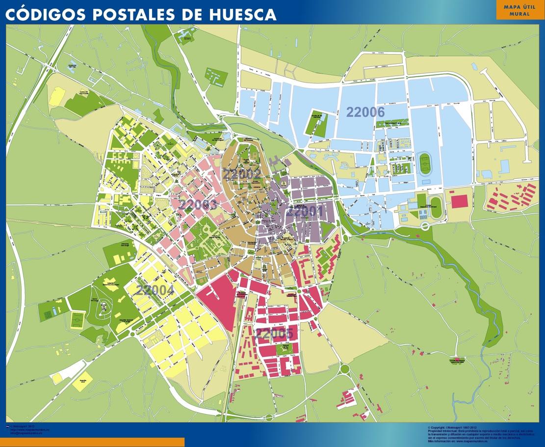 Huesca Codigos Postales