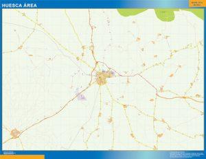 Huesca Mapa Area