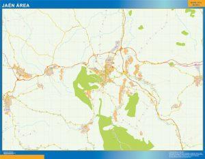 Jaen Mapa Area