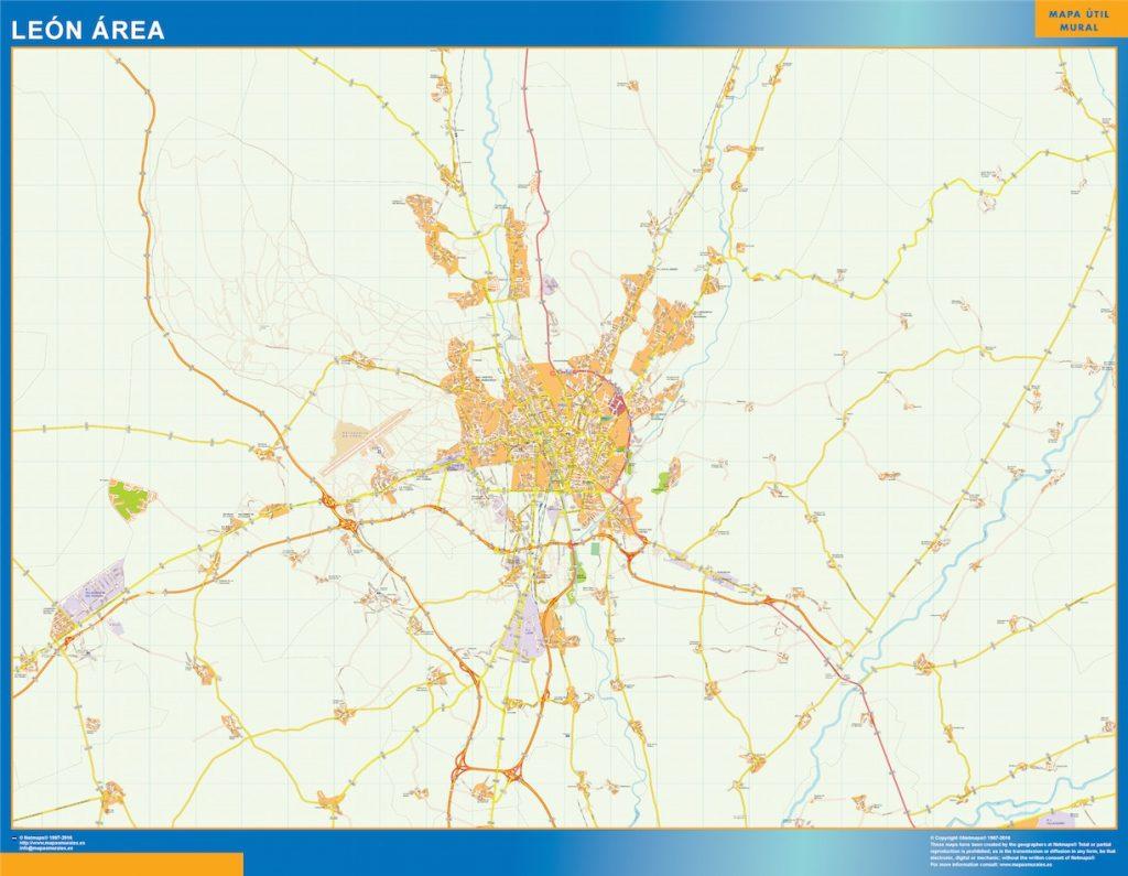 Leon Mapa Area