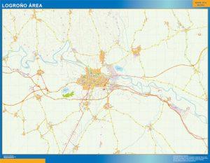Logrono Mapa Area