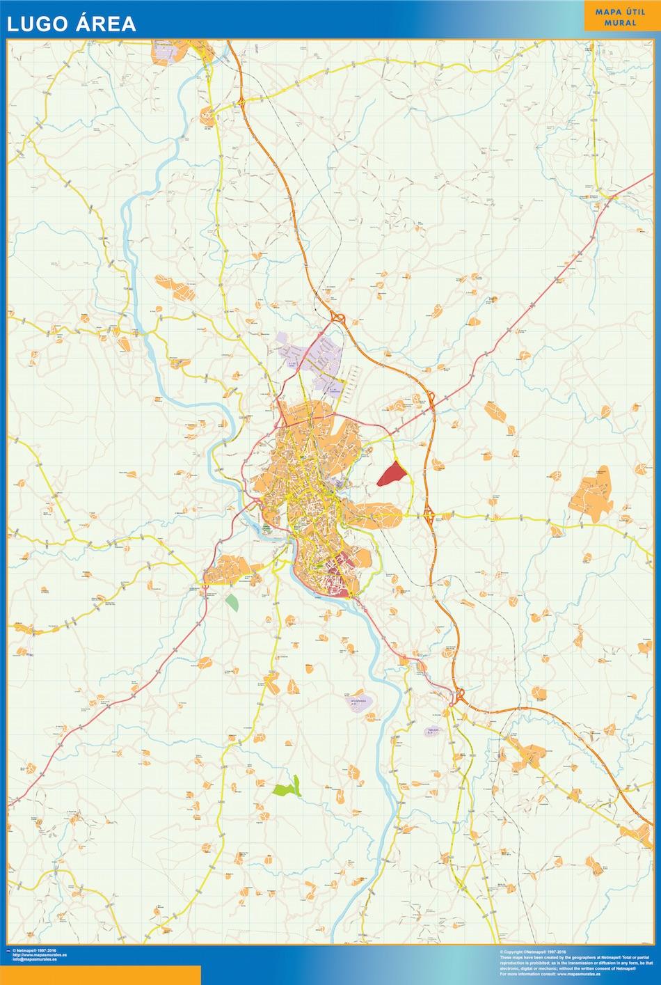 Lugo Mapa Area
