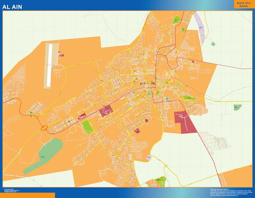 Mapa Al Ain